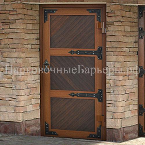 входные двери в гаражные ворота