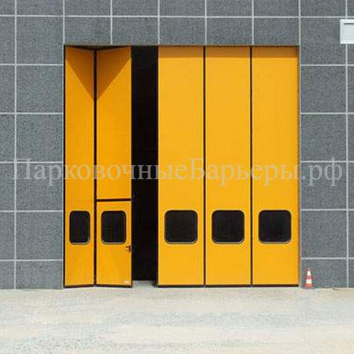 Складные ворота гармошка купить в Сыктывкаре